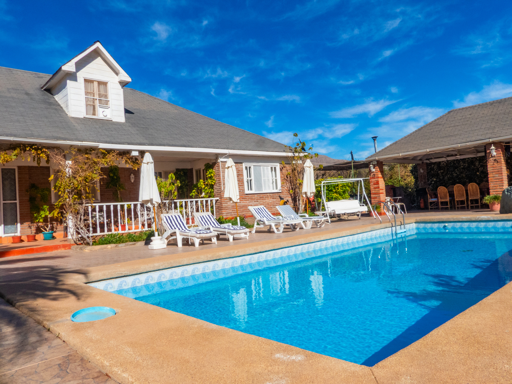 Hermosa Parcela con 2 casas, piscina y quincho, Vicuña. 14.430 UF